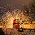 Feuerspiele an der Volkssternwarte Riesa