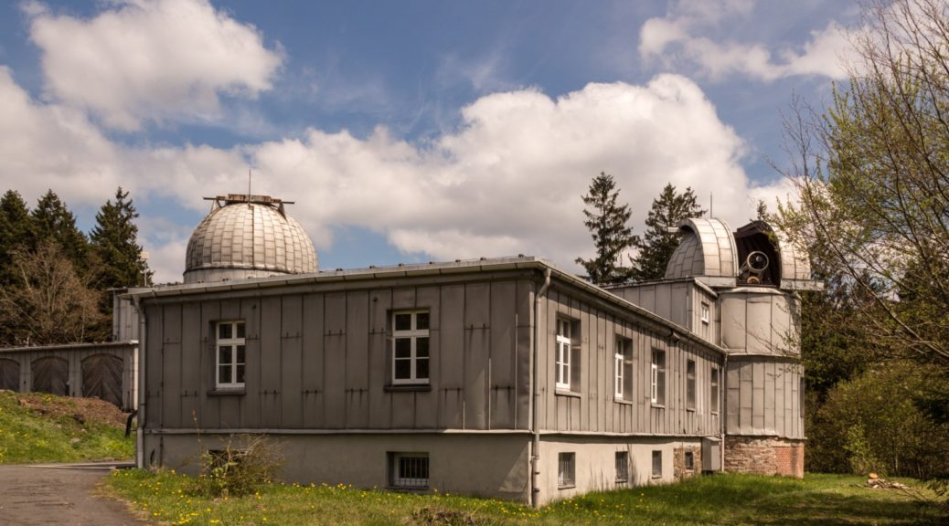 Das Hauptgebäude des Astronomiemuseums Sonneberg