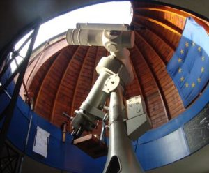 Coudé-Refraktor der Sternwarte Schkeuditz