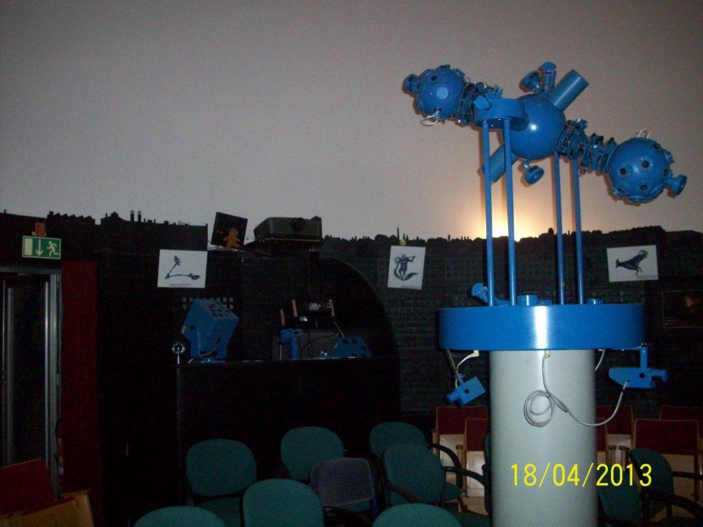 Das Planetarium im Astronomischen Zentrum Schkeuditz